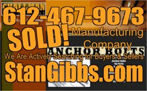 image- Manufacturing Company SOLD!